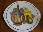 Vintage Shafford Made In Japan Cheese Plate Serving Cearmic