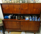 Retro Danish Rosewood Sideboard with Top Section - 1960's - 152cm Wide