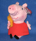 TY  PEPPA PIG BEANIE BABY - NEW MINT TAGS UK EXCLUSIVE