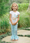 Mud Pie Easter Little Chick Top & Flared Disco Pant Set  0M-5T  #1112103  NWT