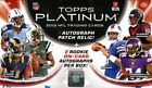 2013 TOPPS PLATINUM FOOTBALL HOBBY 12 BOX CASE