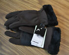 HEAD® DuPont™ ComforMax® Classic Touchscreen Women's Gloves-BROWN-SMALL-NWT