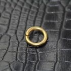 Solid Brass Opened O Ring Split for Key-Fob Leathercraft Hardware Accessory