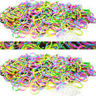 Qty 1200 RARE TIE DYE Rubber Bands + 100 S Clips for Loom Rainbow Bracelets