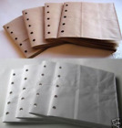 6X6 SEWN paper bag scrapbook album journal book 8 books white and kraft brown