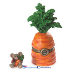 Boyds Bear  Carson's Carrot With Julienne McNibbleTreasure Box  2014