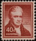 1958 40c John Marshall United States Chief Justice Scott 1050 Mint F VF NH