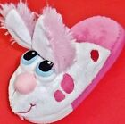 NEW Girls Youths STOMPEEZ PUPPY Pink White Slippers Slip On Casual Shoes