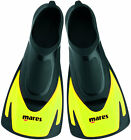 Mares Hermes Short Blade Swim Fins Yellow with FREE draw string bag
