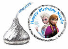 216 DISNEY FROZEN ANNA ELSA BIRTHDAY PARTY FAVORS HERSHEY KISS KISSES LABELS