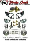 1967 1969 Chevy Camaro Front Disc Brake Conversion Kit W Tubular Control A Arms