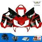 Red Black Complete Injection Fairing Kit for HONDA 2001 2002 2003 CBR600 F4i aA8