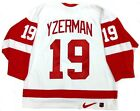 STEVE YZERMAN DETROIT RED WINGS AUTHENTIC NIKE 1997 STANLEY CUP JERSEY SIZE 52