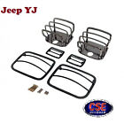Euro Guard Kit Black Chrome for Jeep Wrangler YJ 1987 1995 1118006 Rugged Ridge