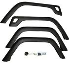 4 Piece Replacement Fender Flare Kit for Jeep Wrangler 1997 2006 Rugged Ridge