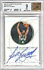 BILL RUSSELL 2002-03 UD ULTIMATE COLLECTION AUTO AUTOGRAPH HOF CELTICS BGS 9 10