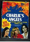 VINTAGE 1977 TOPPS CHARLIE'S ANGELS 36 PACK BOX CARDS&STICKERS SERIES 2