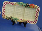 Fitz and Floyd Papa Paisano Divided Tray/3 Section Tray -MIB-#2058/344