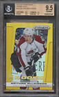 NATHAN MACKINNON BGS 9.5 13-14 PANINI PRIZM REFRACTOR GOLD PRISMS RC 10 HOT SP