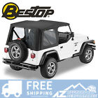Bestop Sailcloth Replace A Top Clear Black Crush For 97 02 Jeep Wrangler TJ