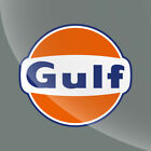 Gulf Vintage Style Vinyl Decal Sticker Gasoline Petroleum Racing 2 in to 20 in