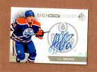 2013-14 SP Authentic Nail Yakupov Sign Of The Times SOT Autograph On Card Auto