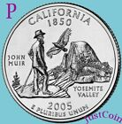 2005 P CALIFORNIA CA STATE QUARTER UNCIRCULATED FROM US MINT  STATE QUARTERS