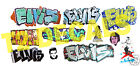 HO Scale Custom ELVIS Graffiti Decals - Weather Your Box Cars, Gondolas