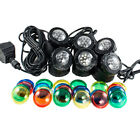 Submersible 4 6 LED Pond Spot Lights for underwater Pool fountain
