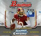 2013 BOWMAN FOOTBALL HOBBY 10 BOX CASE