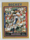 R.A. Dickey 2005 Topps #897 2005 signed auto autographed card Rangers
