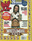 WWE Magazine April 2010 US Edition Wrestlemania 26 Cover 20 CM Punk