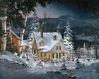 White Mountain Puzzles Friends in Winter - 1000 Piece Jigsaw Puzzle, New