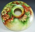 AMERICAN BELLEEK HAND PAINTED NASTURTIUM 10