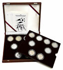 Official 1982 World Championship Football/Soccer Proof Silver Coin Set 16 pc.