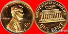 1970 S Lincoln Cent Large Date Gem Proof No Reserve