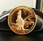 2009 AUSTRALIAN KANGAROO QUEEN ELIZABETH 24K .999 1oz Pure Gold Bullion Coin