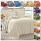 100% Cotton Chenille Bedspread Select Color and size Twin Full Queen King NEW