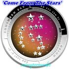 2014 Australia Southern Sky Orion 1oz Silver Proof Colored Domed Coin COA