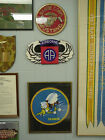 82nd Airborne Novelty Patch, AA Superimposed on Basic Jump Wings! MINT boxed
