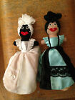 Set of 2 Vintage Black Americana Reversible Rag Dolls