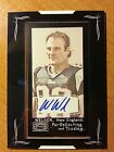 Wes Welker 2008 Topps Mayo Autograph Auto