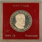 1978 100 Zloty Polish Silver Proof Commemorative Korczak Coin