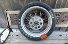 Kawasaki Suzuki Harley-Davidson Aluminum Spoked Rear Wheel Great Shape Dragbike