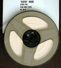 SCOTCH BRAND WHITE PAPER LEADER TAPE FOR 1/4 INCH REEL TO REEL IN 7 INCH PLASTIC