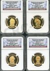 2010 S PRESIDENTIAL DOLLAR SET NGC PF69 ULTRA CAMEO