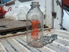 Meadow View Farm Dairy  T Reilly Milk Bottle Saquoit NY TSPQ Quart Pyro