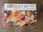 NIB Romertopf~#111~Terracotta~Clay~Baker~Roaster~3 Quart~Mexico