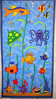 Under The Sea Tropical Ocean Fish Panel fabric Cotton by Fabri - Quilt BTP