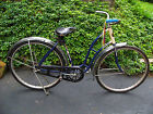 VERY RARE!!! VINTAGE ANTIQUE COLLECTABLE SAM SCHWATZ CO. BICYCLE 1940S